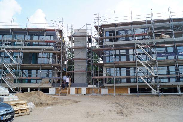 Maremüritz, Errichtung einer Appartementanlage in Waren (Müritz)