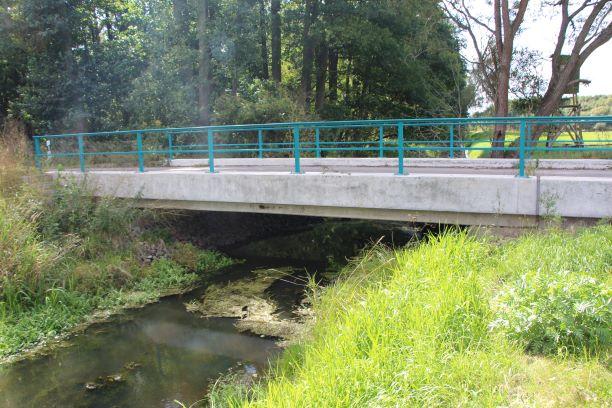 Brücke über den Prahmgraben auf dem Truppenübungsplatz Jägerbrück