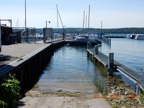 Instandsetzung des Hauptsteges zum Schiffsanleger am Wassersportzentrum in Neubrandenburg